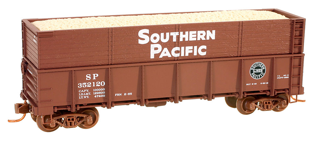 Micro-Trains Southern Pacific Woodchip 8-pack