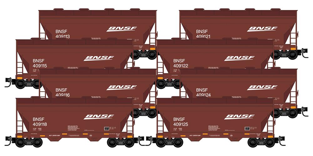 Micro-Trains BNSF 8-pack