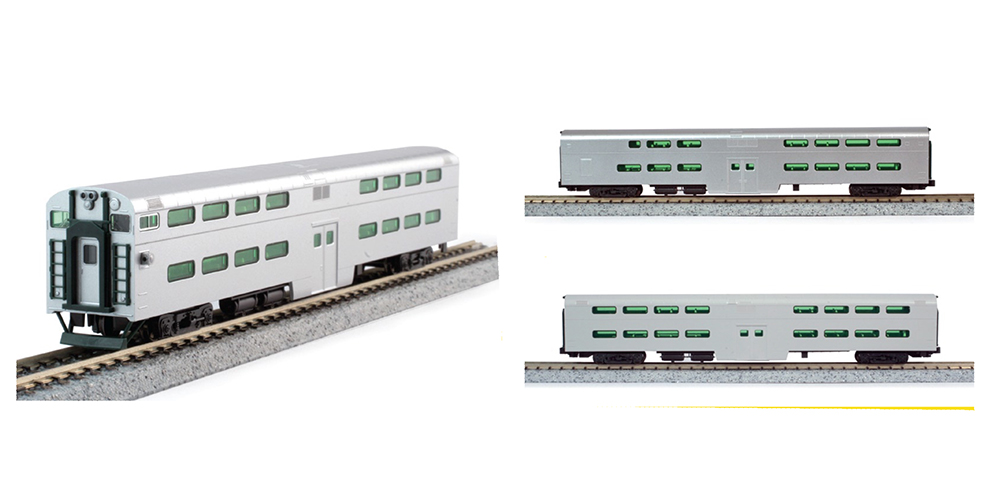 Kato Chicago & North Western Passenger Cars