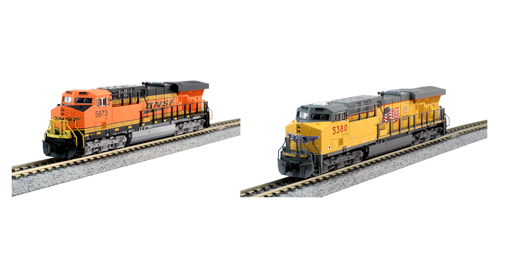 Kato GE ES44AC – Union Pacific and BNSF